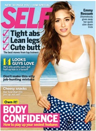 Self Magazine (Feb 2013): acupressure points for happiness
