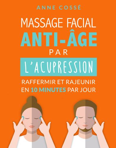 livres d'acupression, massage facial antiâge